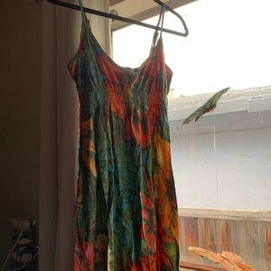 Lucky Brand🍀 Floral Tank Sundress